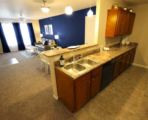 Arborwood Apartments Kitchen