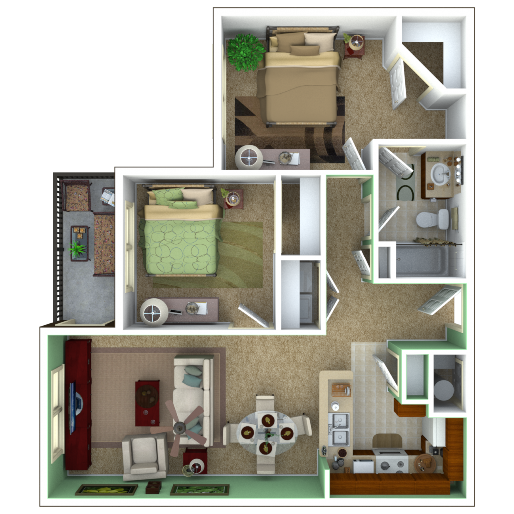 Brookhaven 2 bedroom apartments