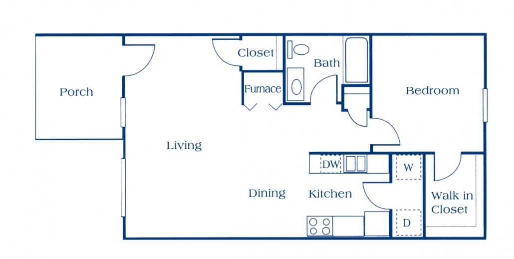 CHA Lebanon 1 Bedroom Apartments
