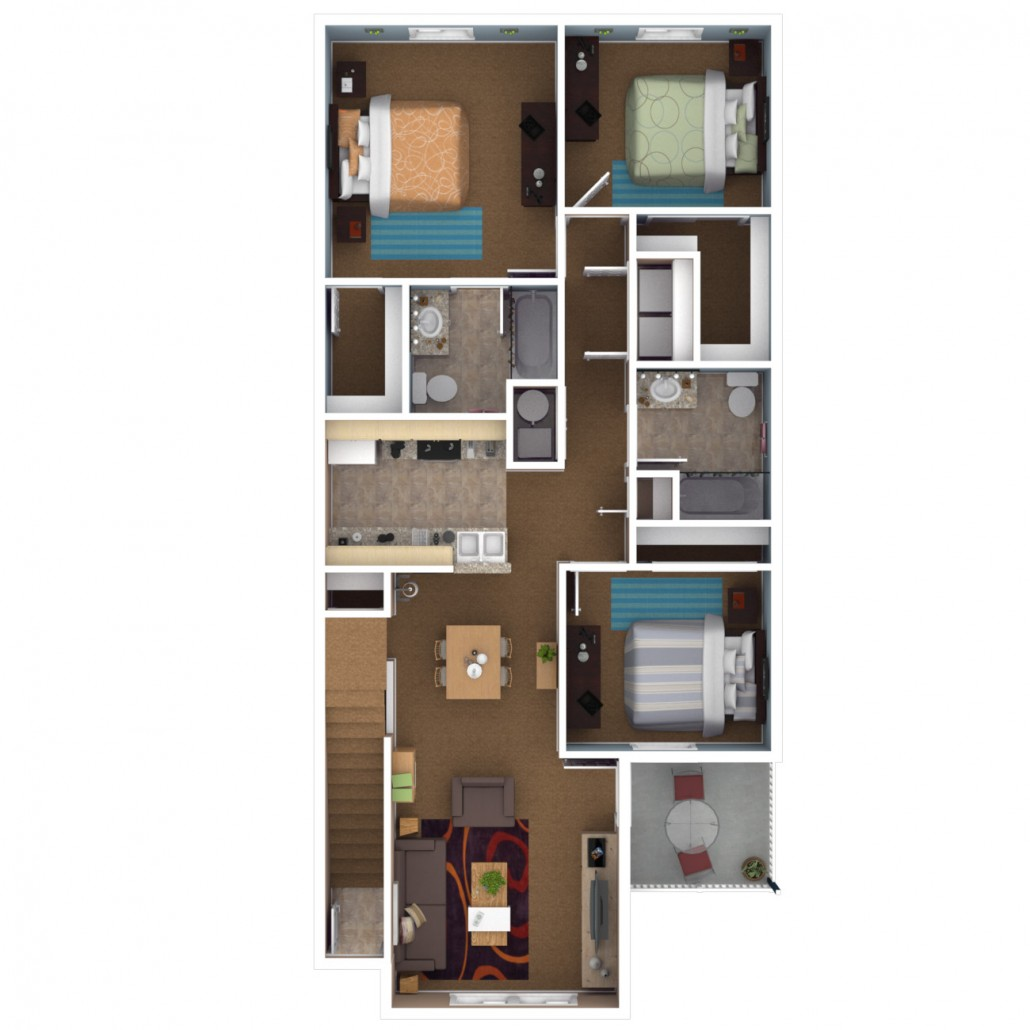 Apartment Cheaper Price At Dunwoody Crossing Apartments: Canterbury House Apartments