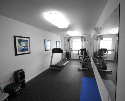 Broadstone Pointe Senior Apartments Community Fitness Center