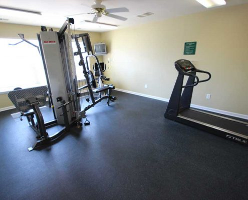 Canterbury House Apartments – Mann Road Fitness Center