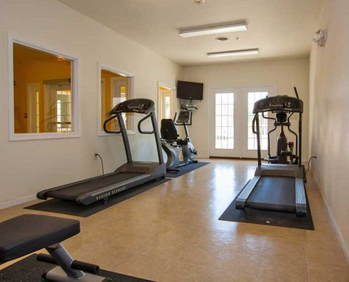 Brookhaven at County Line Senior Apartments Fitness Center