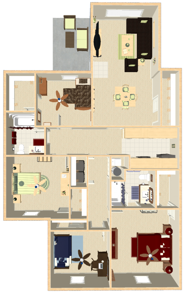 Washington Pointe Apartments 4 Bedroom