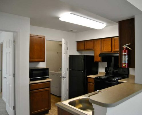 Cottages at Sheek Road Apartments Kitchen