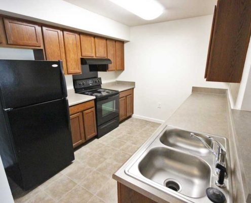 The Commons at Spring Mill Apartments Kitchen