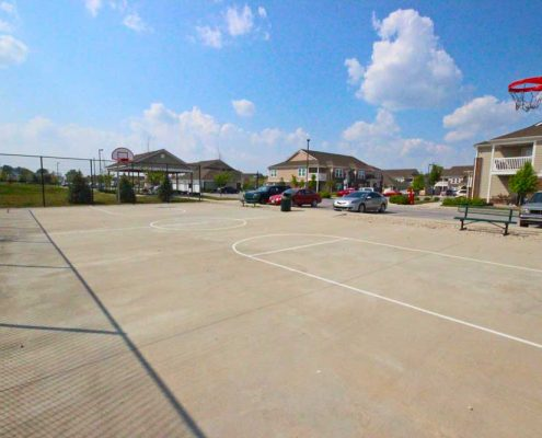 The Commons at Wynne Farms Apartments Basketball Court