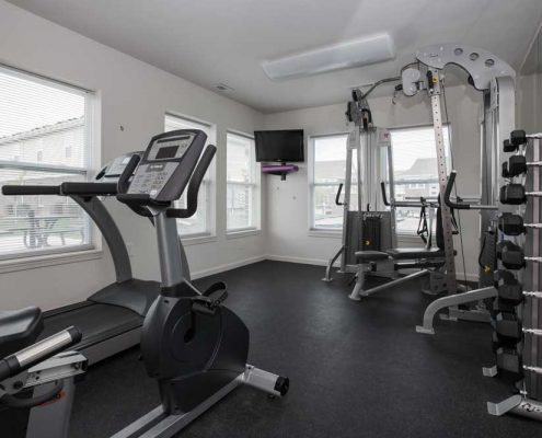 The Commons at Spring Mill Apartments Fitness Center