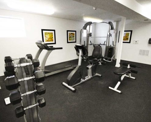 The Enclave at Meridian Apartments Fitness Center