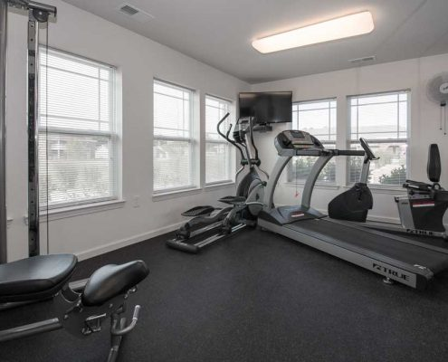 Crosswinds at Tradition Lane Apartments Fitness Center