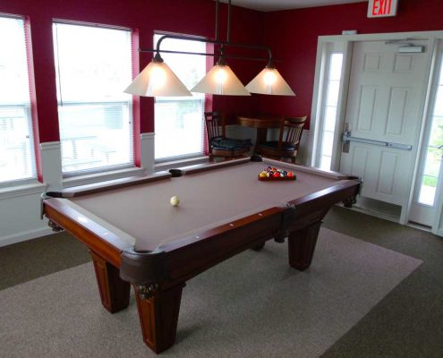 The Commons at Wynne Farms Apartments Game Room