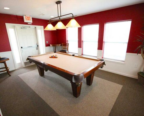 The Commons at Spring Mill Apartments Game Room