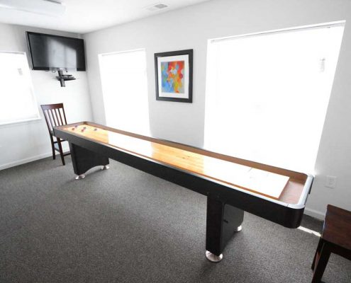 Cottages at Sheek Road Apartments Game Room