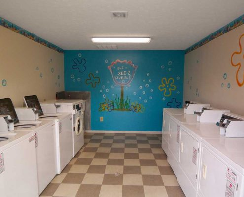 Franklin Place Apartments Community Laundry Room