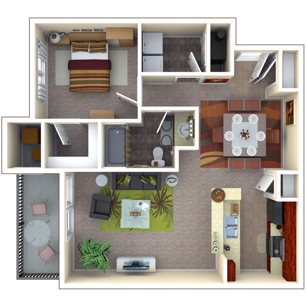 Copper Chase At Stones Crossing Apartments Floor Plan Bismuth
