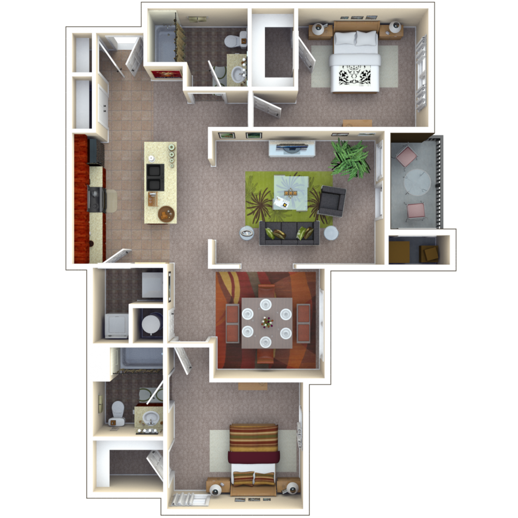 Copper Chase At Stones Crossing Apartments Floor Plan Palladium
