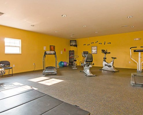 Nora Commons on the Monon Senior Apartments Fitness Center