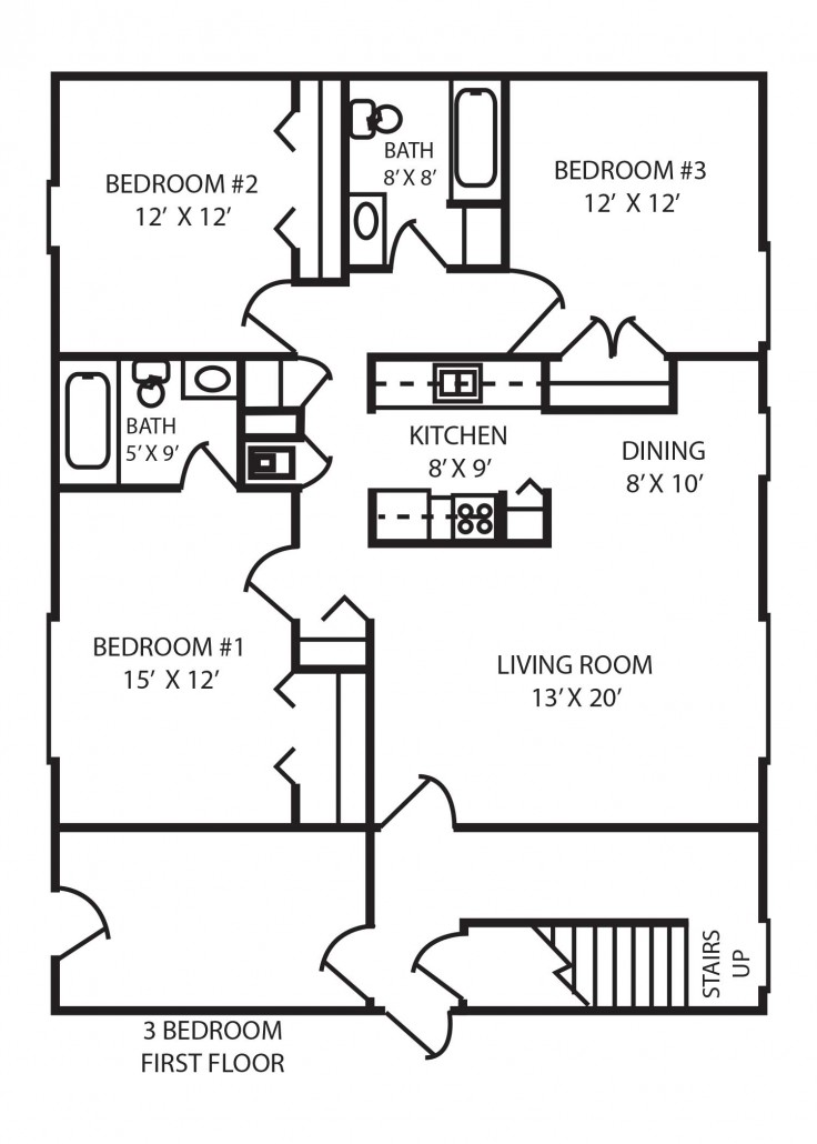 Pine Glen Apartments 3 Bedroom