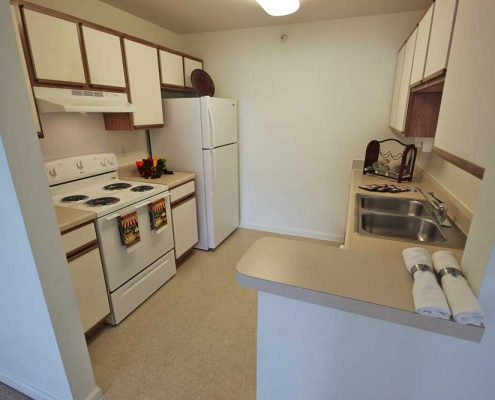 Washington Pointe Apartments Kitchen